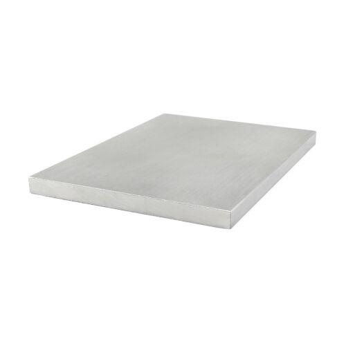 80//20 Inc 80mm x 6mm Thick Aluminum Flat Stock Part #40-8341 x 455mm Long N