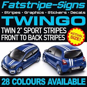 Details about RENAULT TWINGO GRAPHICS STRIPES STICKERS DECALS SPORT RS  TURBO 1 4 MK2 MK3 133