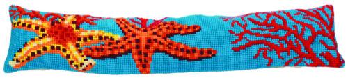 Collection D/'Art Cross Stitch Cushion Kit Solid Starfish CD5149