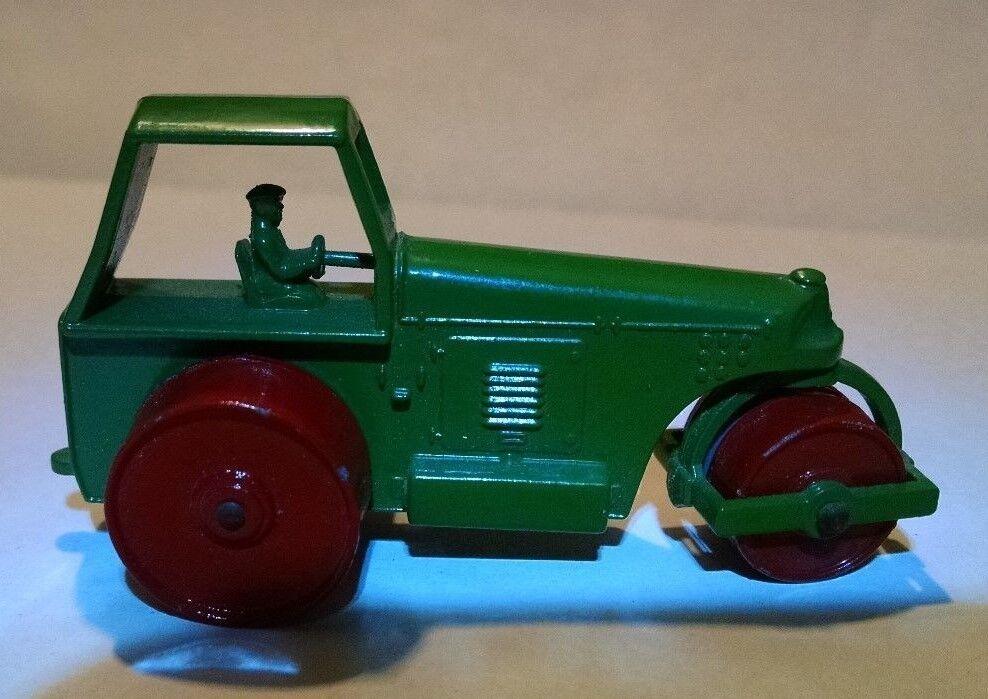cómodo Matchbox Regular rueda rueda rueda 1 C Road Roller Dk verde 1958  A la venta con descuento del 70%.
