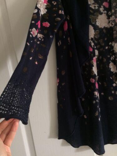 fleurs Inc avec à International bleu l'arrière Petit Taille Cardigan marine Concepts WYwUrqRYp