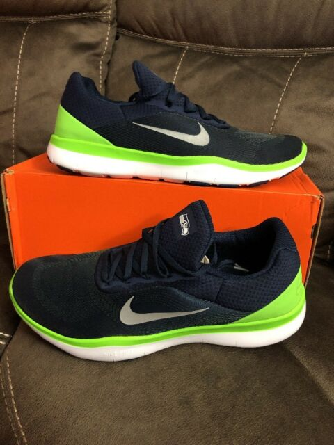 new product b0e73 83b17 Nike Trainer V7 NFL Seattle Seahawks Mens Shoes 15 Navy Aa1948 400 ...