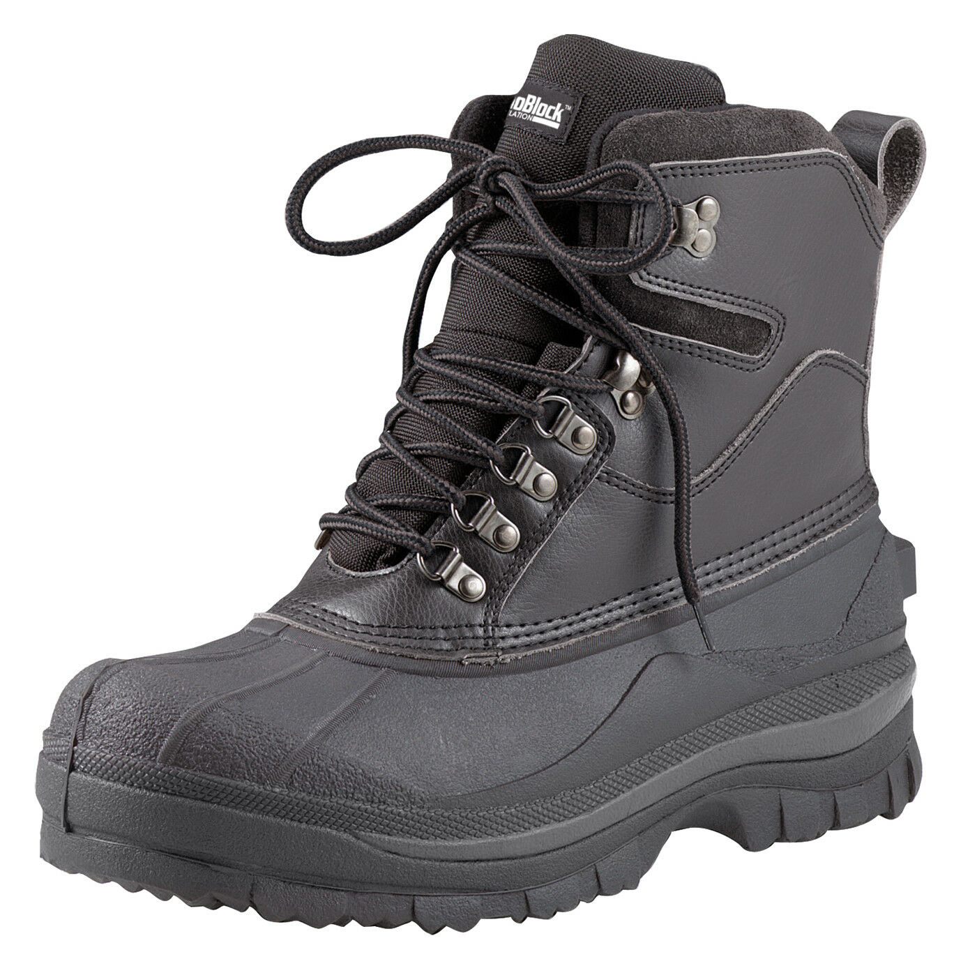 Stiefel Wasserdicht Kaltes Wetter Wandern Schwarz 20.3cm Isoliert Rothco 5459