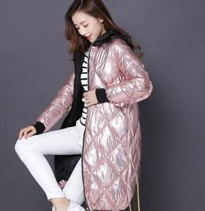 Womens-Slim-Cotton-Down-Hooded-Loose-Winter-Parka-Outwear-Warm-Snow-Coats