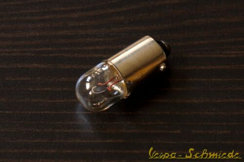 12v//4w//ba9s-voiture roller scooter Moto Ampoule poire 1x Ampoule