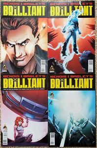 BRILLIANT # 1-4; Brian Michael Bendis, Mark Bagley, Ultimate Spider-Man, NM