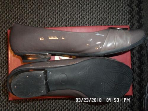 Ladies brevetto Taupe carboncino 5ee Uk6 da Excon scuro cashew scarpa Nuts Clarks rqYHBr