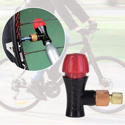 Bike Inflator Head Alloy 54mm Compatible For Presta Schrader Valve CO2 Pump Tool