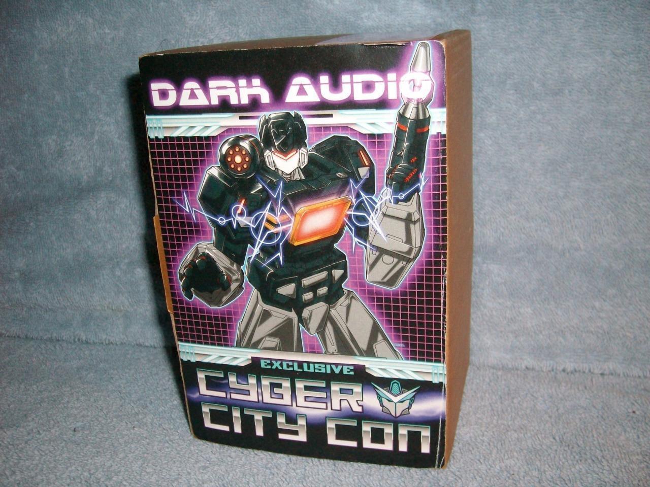 Dark Audio Exclusive Cyber City Con Transformer Ltd Ed 66 150 2016 New