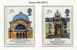 S2889-UK-Great-Britain-1990-MNH-Europa-Post-Offices-2v
