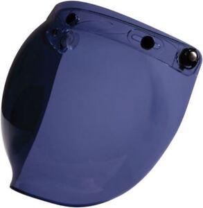 27ef7530 Z1R - 3 Snap Flip Up Motorcycle Helmet Bubble Shield - Smoke | eBay