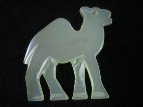 Hecho a mano Madre de Perla Árabe Desierto Camel Broche Pin 3cm Belén palestina