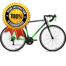 700c 21 Speed Road Racing Bike Drop Bars Mens Bicycle Shimano Tour De France NEW