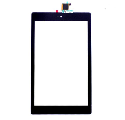 Replace For Amazon Fire HD 8 7th Gen SX034QT Touch Screen Digitizer Glass BLACK