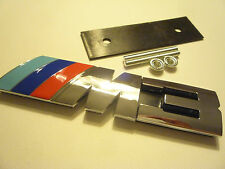 BMW M3 FRONT GRILLE BADGE M SPORT M POWER DECAL CSL E46 E90 SMG CONVERTIBLE