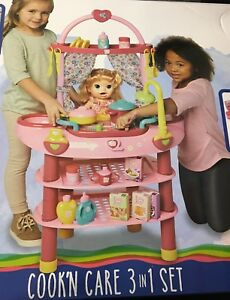 Baby Alive Cook N Care 3 In 1 Set For 16 In Doll Ages 3