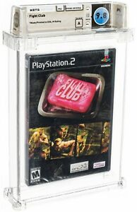 2004 Fight Club Playstation 2 PS2 Video Game WATA 9.8 A Sealed