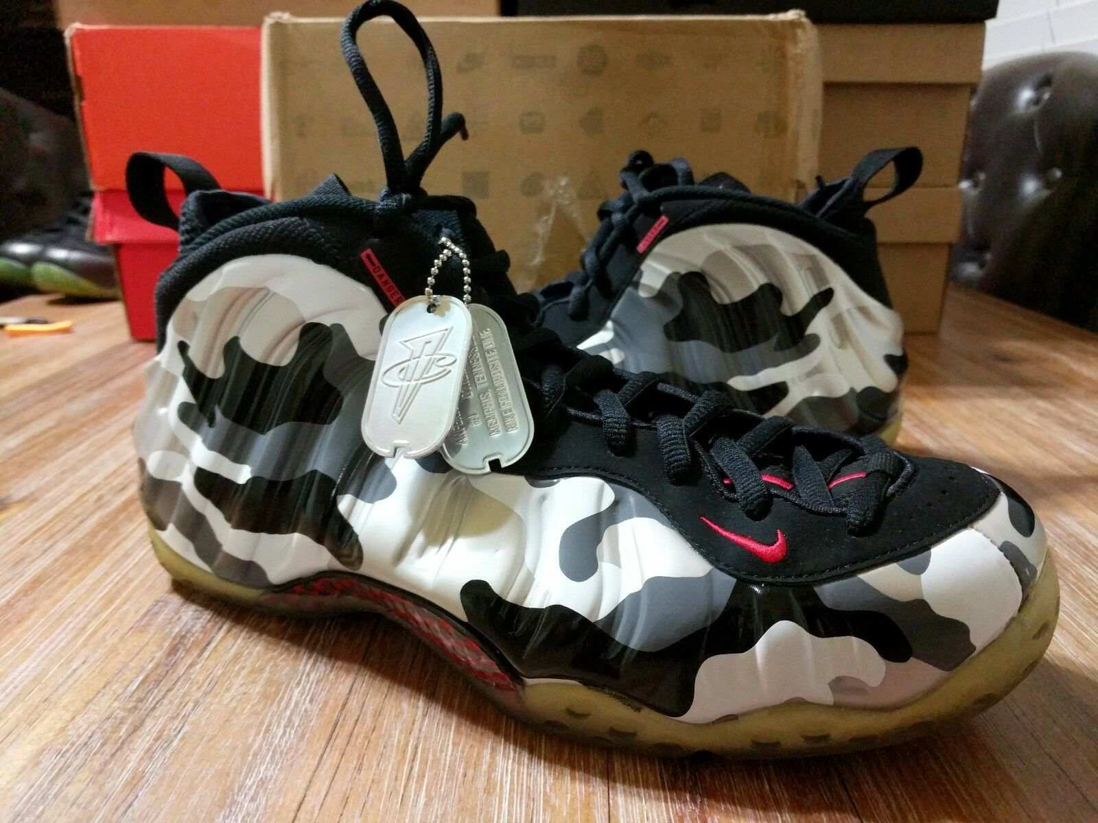 Air Foamposite One  Fighter Jet  NDS size 12 pre-owned