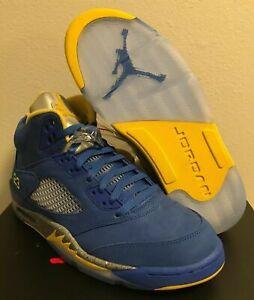 c21efd83036 Nike Air Jordan 5 Retro Laney JSP Varsity Royal Blue CD2720-400 ...