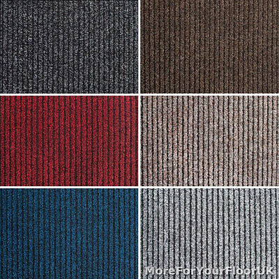 Heavy Duty Entrance Matting Heavy Contract Ribbed Carpet Hard Wearing 2m Wide Ebay