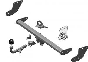 Brink Towbar for Volvo XC90 2002-2014 Detachable Tow Bar