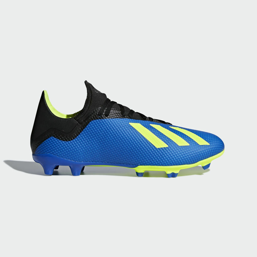 Adidas Soccer Men's X 18.3 Firm Ground Shoes Size 7 to 12 us DA9335