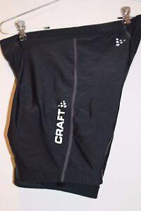 CRAFT Active Basic Women/'s Padded Cycling Shorts Size SMALL Black  NEW Ships USA