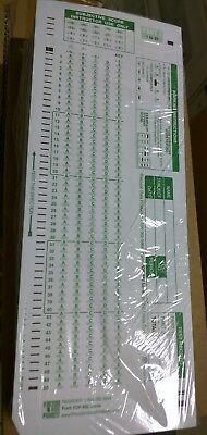 Scantron® Forms 884-E 200 Question 500//pkg In Plastic