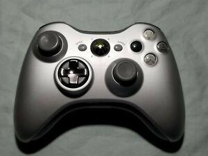 Microsoft Xbox 360 Wireless Pro Elite Controller Special Edition Chrome Silver