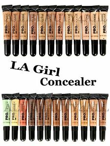"""PICK ANY 12"" LA Girl Pro HD Concealer Corrector Creamy & Long-Last + NEW COLORS"