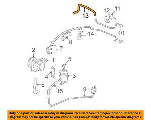 New Nichirin Power Steering Return Hose Gear To Pipe 53734SDAA01 Acura Honda