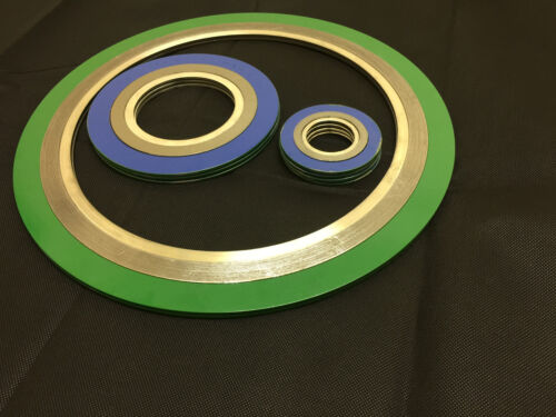 Acier au carbone extérieures, graphite/316 filler, 316 inner spirales gaskets