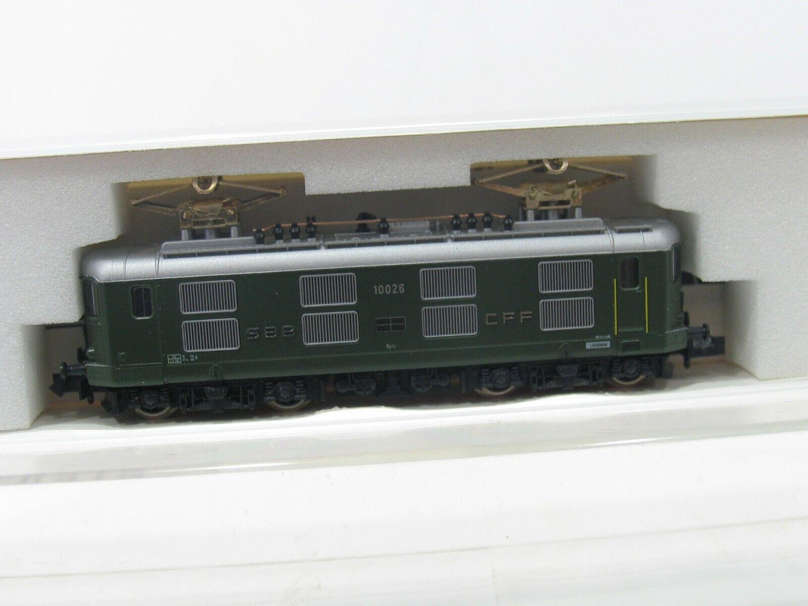 Hobbytrain 11011 e-Lok re 4 4  10026  de verde SBB nh227