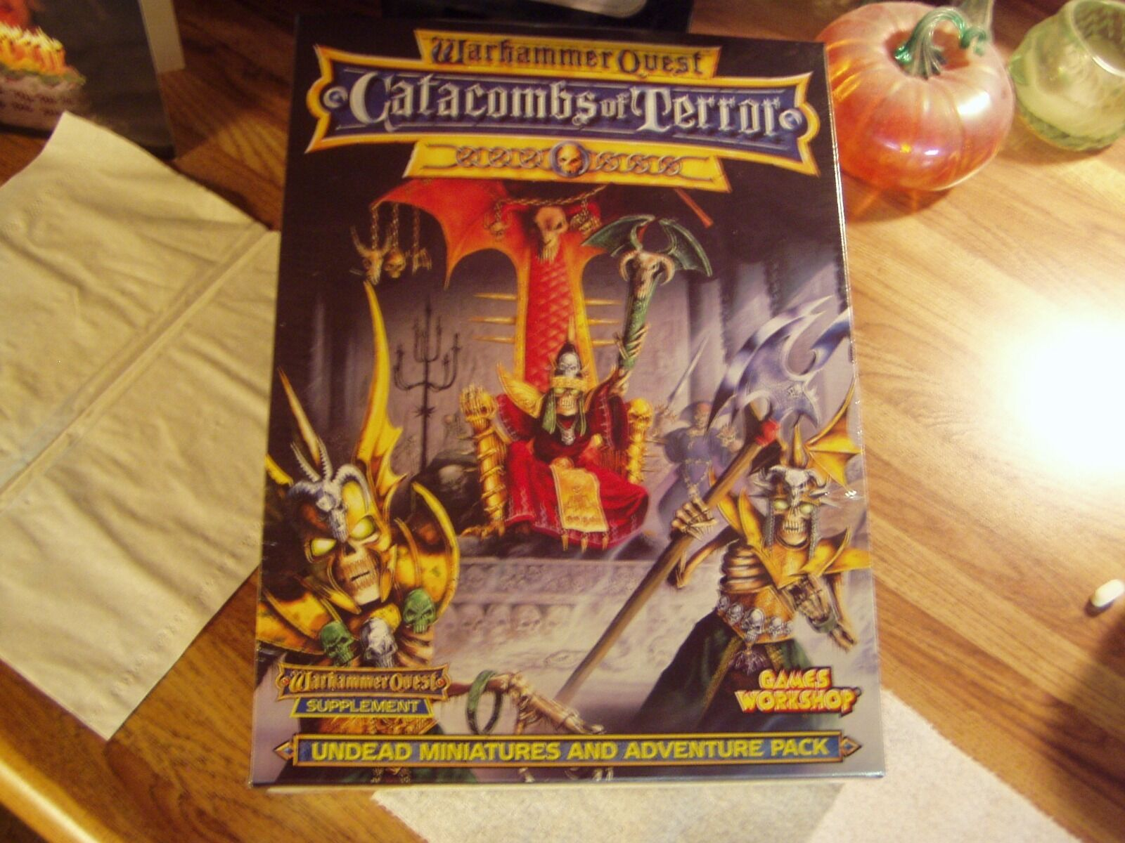 Warhammer Quest  Catacombs Of Terror  Expansion ULTRA RARE NEW & MINT  SEALED