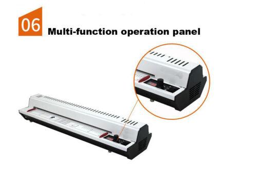 Pro Thermal Laminator Never Jam Technology Automatically Laminating Machine Home