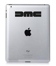 DELOREAN DMC Apple iPad Mac transfert Macbook Autocollant Vinyle Décalcomanie.