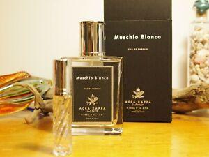 goede textuur de goedkoopste professionele verkoop Details about Acca Kappa Muschio Bianco Eau De Parfum 3ml Sample Glass  Spray *Read* White Moss