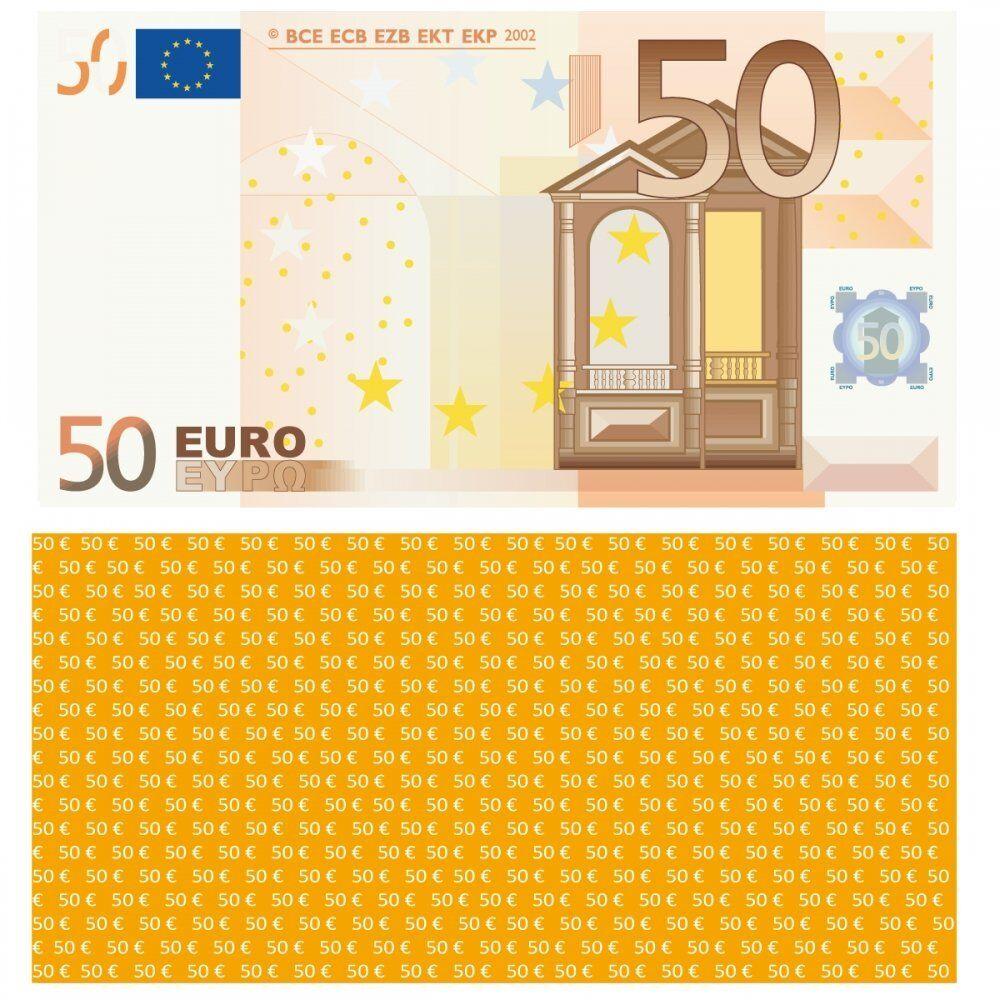 100X 50 Euro Euro Euro Premium Spielgeld 102 x 56 mm Geld Banknoten Geldschein Money 75% 330c6b