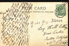 Genealogy Postcard - Family History - Storer or Stoger - Sutton Coldfield A1021