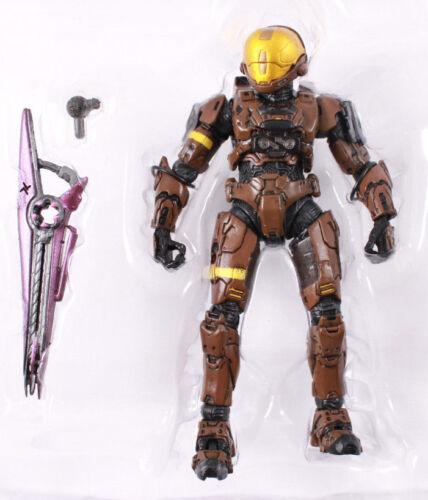 Halo 3 SPARTAN SOLDIER EVA Brown Series 2 TRU Exclusive New Loose