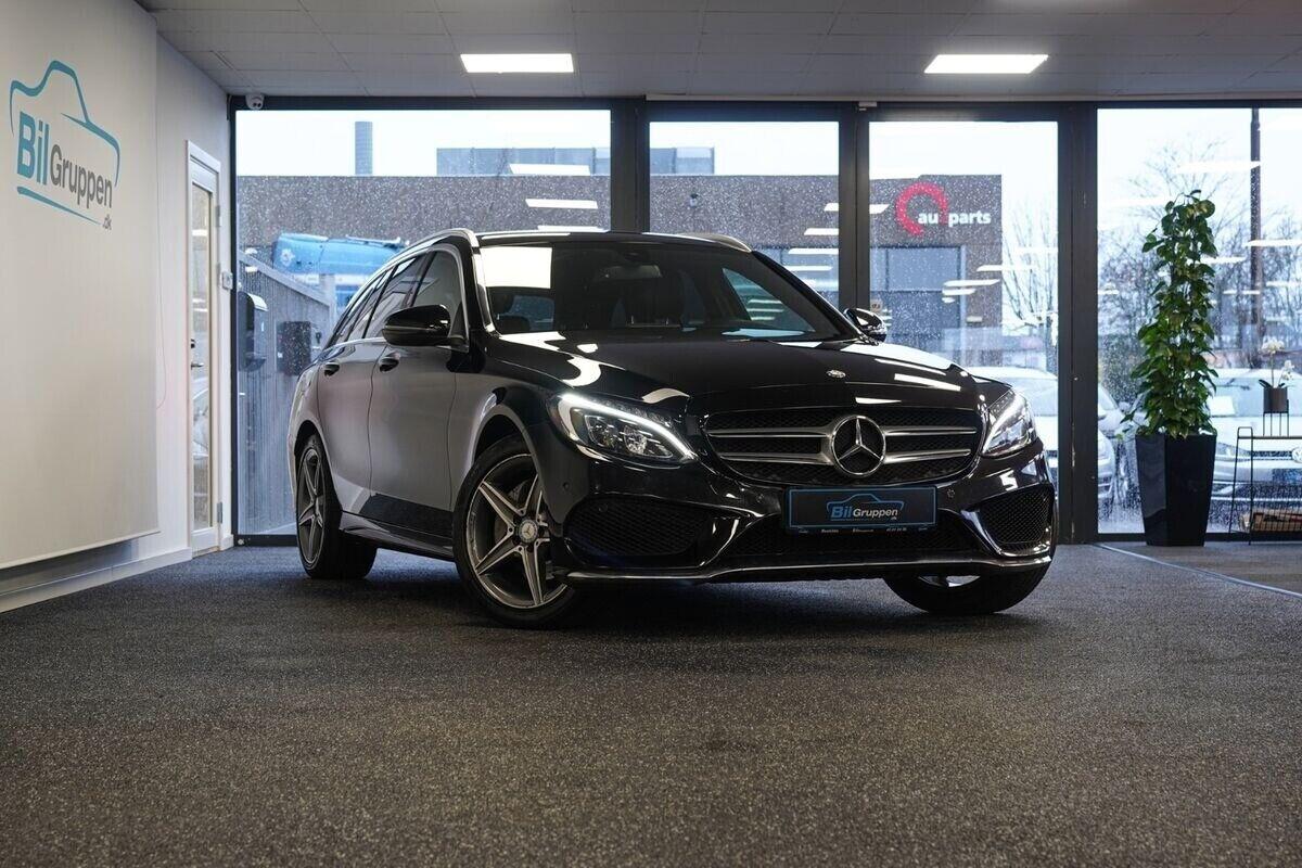 Mercedes C220 d 2,2 AMG Line stc. aut. 5d - 329.900 kr.
