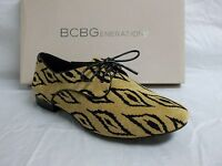 Bcbgeneration Bcbg Size 6 M Lesleigh Tribal Leather Oxfords Womens Shoes