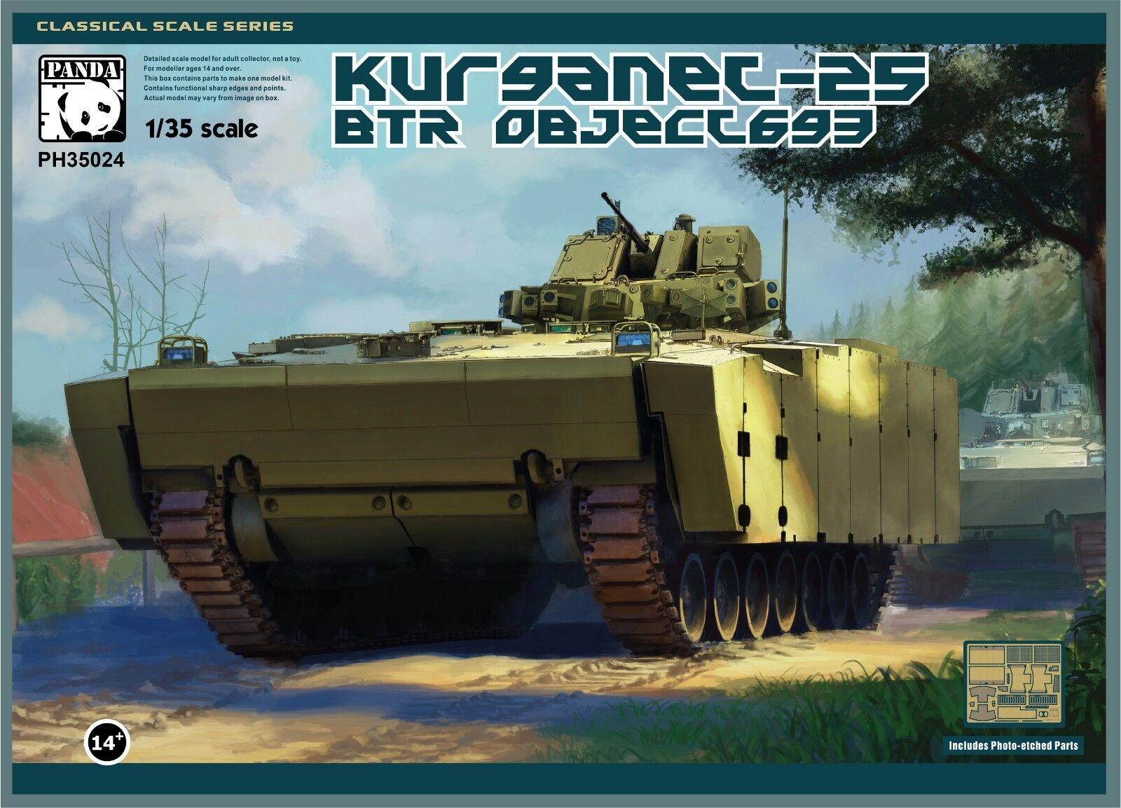 Panda Hobby PH35024 1 1 1 35 Object 695 Kurganet-25 491d17