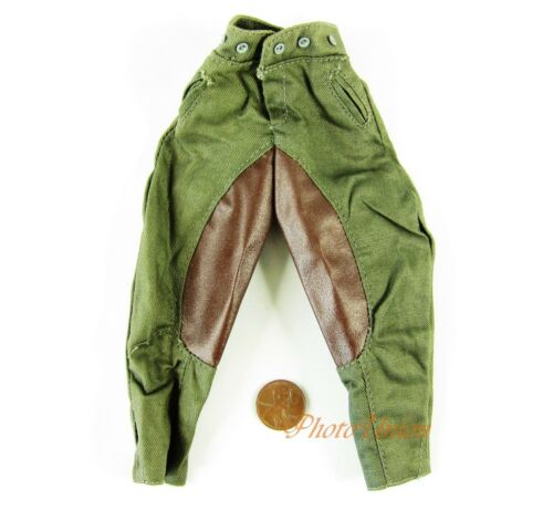 1:6 Action Figure WW2 GERMAN Officer Comander Horse Riding Pants Trousers OK003