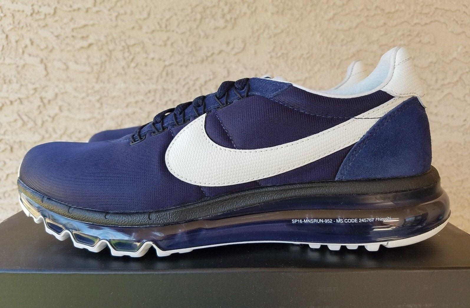 Nike Air Max LD Zero Obsidian White 848624-410 Hiroshi Fujiwara Size 5.5