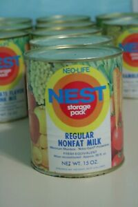 Vintage-1970s-Neo-Life-NEST-Regular-Nonfat-Milk-Can-Full-Unopened