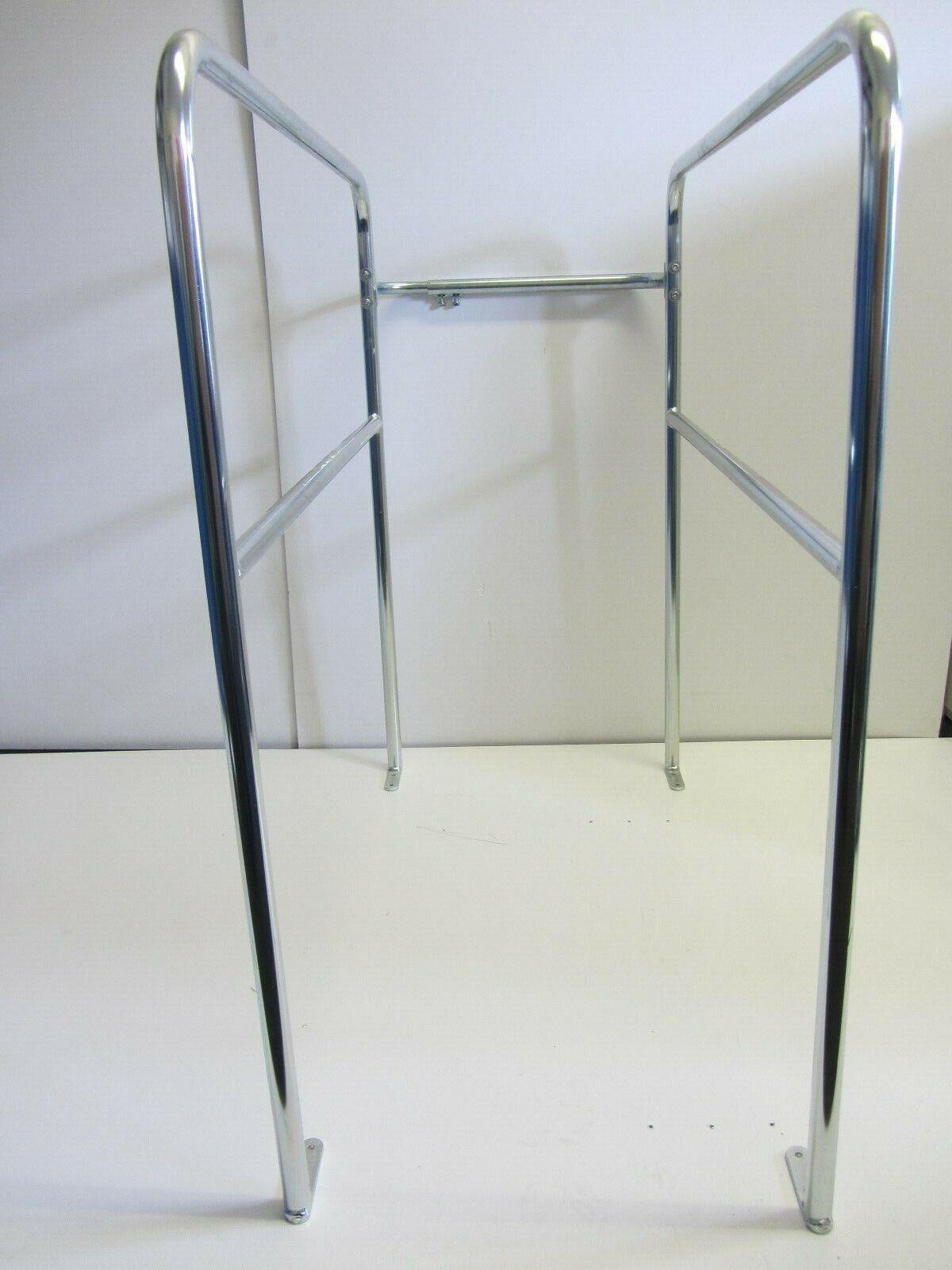 Loft Surround Rail Telescopic Steel Balustrade Safety Silver Rail by BWT