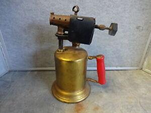 Vintage-Clayton-amp-Lambert-Model-32A-Brass-Blow-Torch