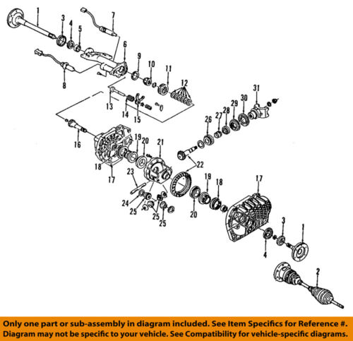 GM OEM Front Differential-Adjuster 22934983