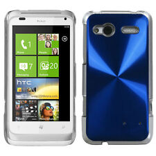 For T-Mobile HTC Radar 4G METAL Cosmo HARD Protector Case Phone Cover Blue